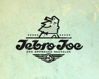 Jebro Joe by Mikeymike #retro #logo #illustration #vintage #type