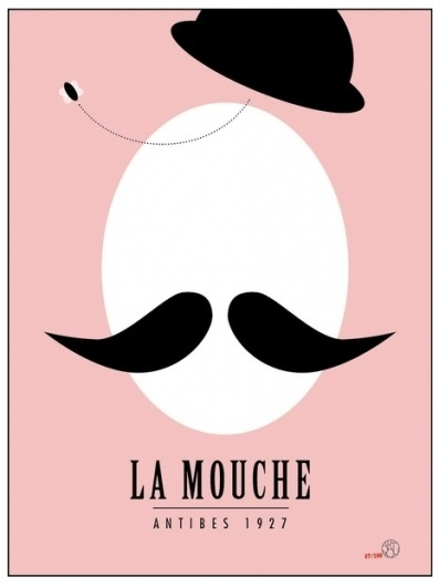 RIAZZOLI.: art you giveway! #france #1927 #vintage #poster #antibes #moustache