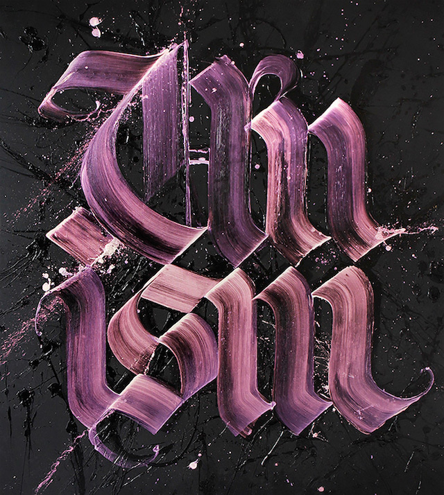 Calligraffiti by Niels Shoe Meulman 3 #street art #calligraffiti #calligraphy #graffiti #typography #text