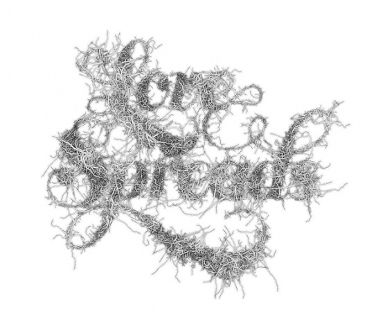 Processing Typography on the Behance Network