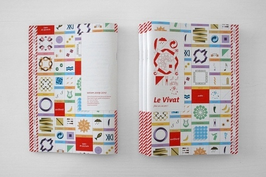 All sizes | CHARTE ANNIVERSAIRE DU VIVAT | Flickr - Photo Sharing! #shapes #design #graphic #zine