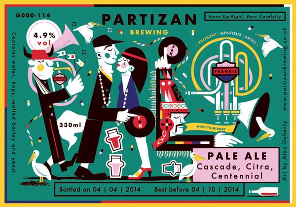 Partizan Brewing Pale Ale G000 114 #brewery #partizan