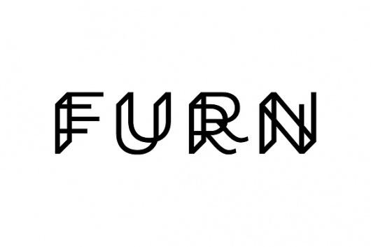 Logo Designs on the Behance Network #line #kelava #logo #furn #concept #type #typography