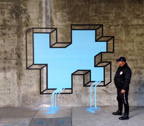 Aakash Nihalani | PICDIT #design #tape #art