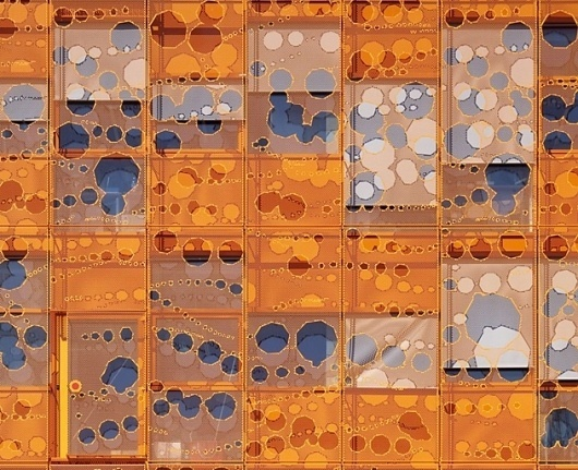 urban taster | stuff we like #orange #architecture #holes #windows