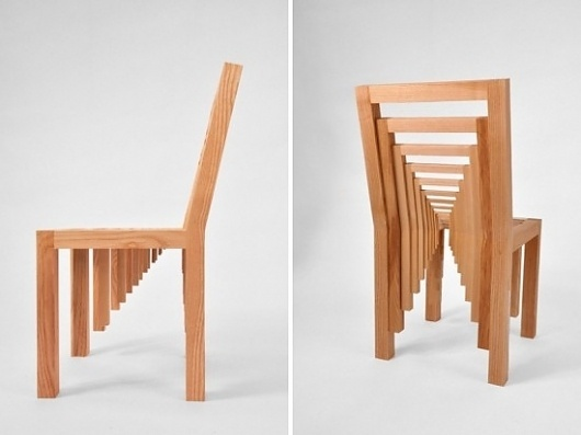 Inception Chair | Fubiz™ #wood #furniture #chair