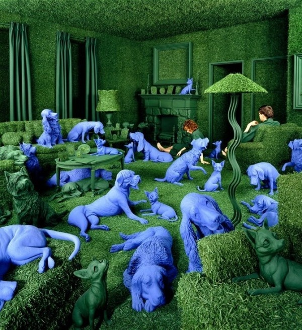 Creative Colorful Photography by Sandy Skoglund #colorful #photography #inspiration