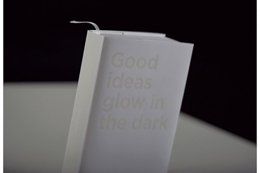 Good ideas glow in the dark — Bruketa&Žinić OM #cover #book