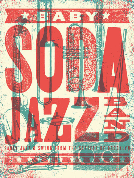 GigPosters.com Baby Soda Jazz Band #poster