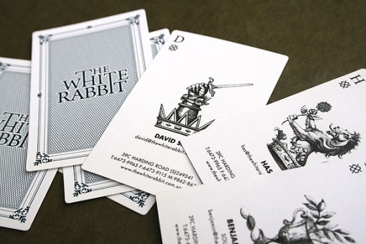 THEARTISTANDHISMODEL » Branding #business #deck #card #playing #illustration #cards #typography