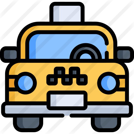 See more icon inspiration related to cab, transportation, taxi, public transport, automobile, car, vehicle, travel and transport on Flaticon.