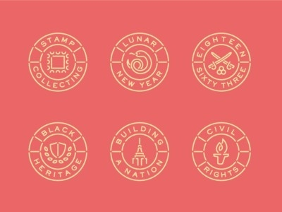 Stamp Icons #stamp #icons