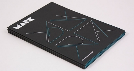 MARK | Identity Designed #stationary #design #graphic #book #minimal