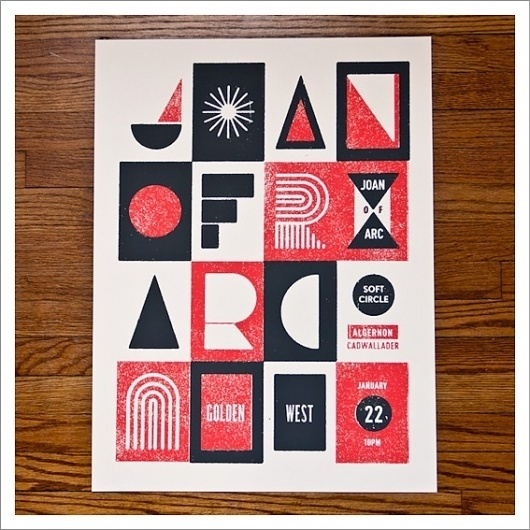 Christopher Muccioli – Screen Print Gig Posters / Aqua-Velvet #arc #joan #gig #print #of #muccioli #screen #poster #christopher