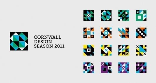 Cornwall Design Season | Branding | A-Side #logo #system #identity #branding