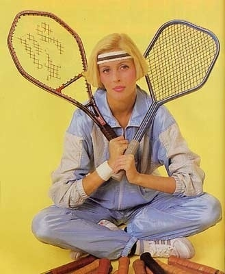 MacGregor Bergelin Long String and Myriac, 1986 - 80s-tennis.com #1986 #racquest #oddish