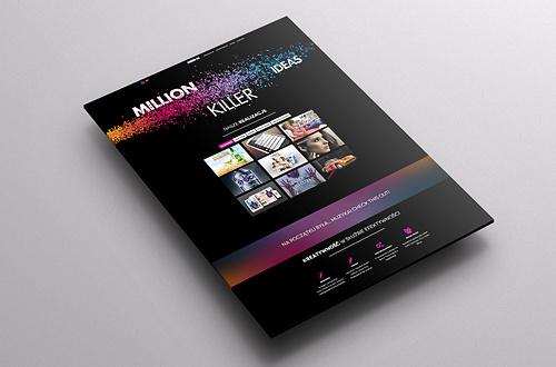 Million Killer Ideas #portfolio #design #website #ci #webpage #web