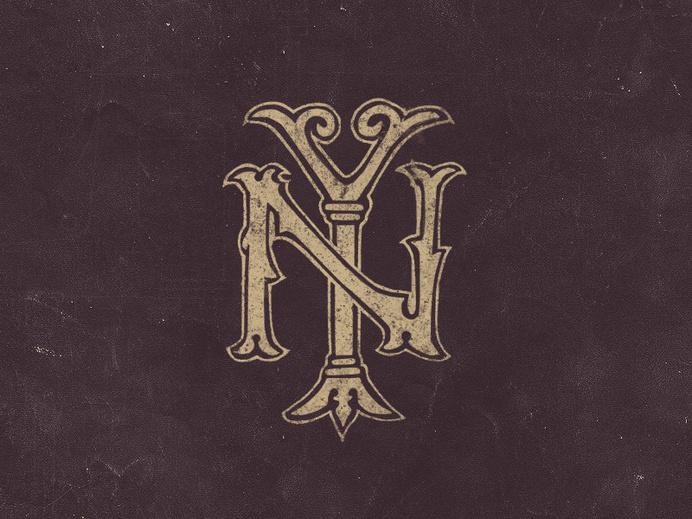 New York Monogram #york #ny #monogram #new