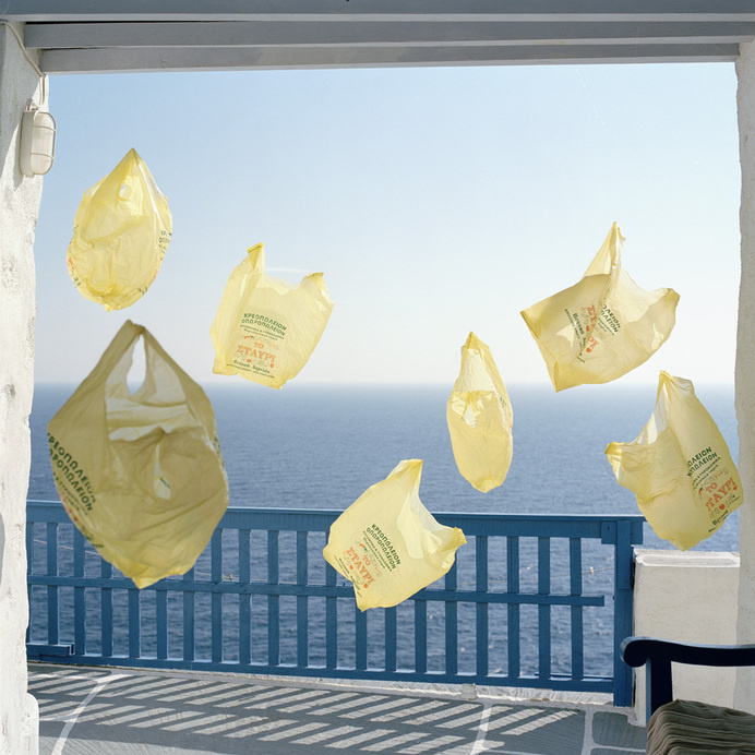 Yellow Bags#photography #art #installation