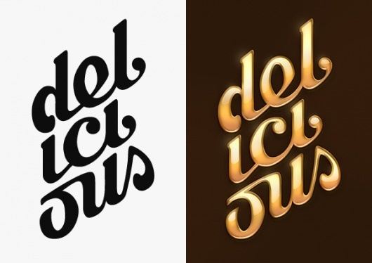 Type Treatments on the Behance Network