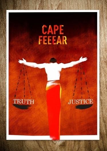 CAPE FEAR - Rocco Malatesta Posters & Prints #movie #cape #malatesta #graphic #rocco #fear #illustration #poster