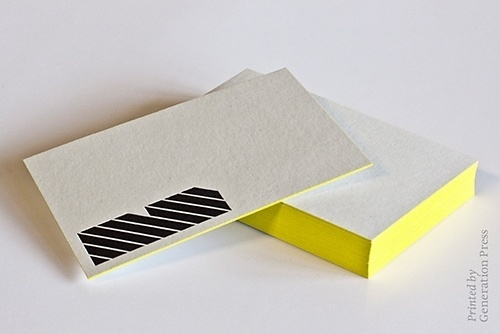 Generation Press » Colour Edging by Generation Press #edging #business #print #cards #stationery #colour