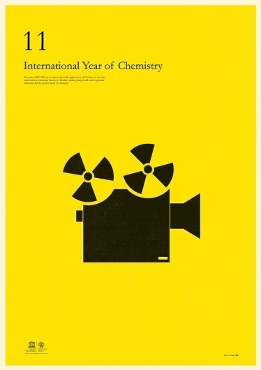 International Year of Chemistry 2011 on the Behance Network #illustration #poster