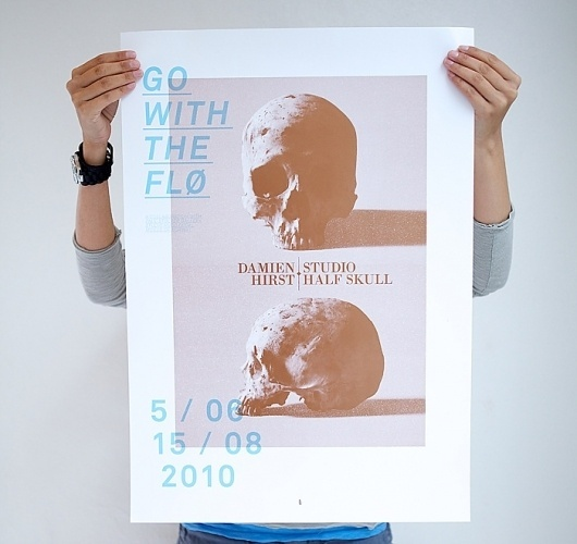 Go With The Flø — poster series – bleed - agency blog