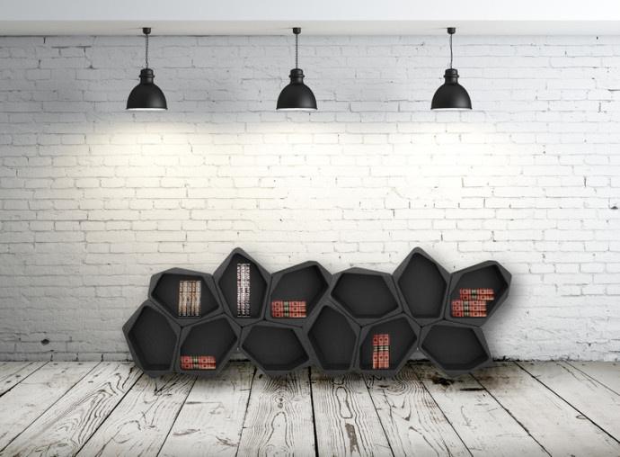 modular shelving system (8) #modular #furniture #design