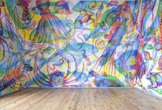 Creative Review - Carnovsky's RGB wallpaper: new work #wallpaper #art