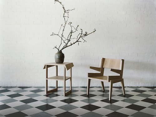 quaristices: Furniture by Australian designer Khai Liew #interior #furniture #geometry