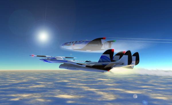 "XLDron ""M Gravity"" #tourism #innovation #aircraft #space #concept"