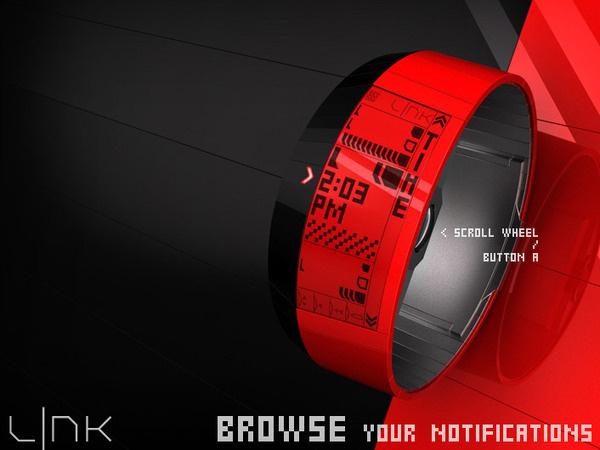 LNK e Paper Watch #tech #amazing #modern #innovation #design #futuristic #gadget #ideas #craft #illustration #industrial #concept #art #cool
