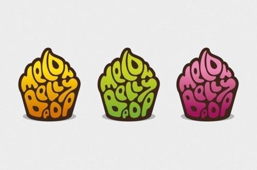 http://thatisabsurd.tumblr.com/ #cupcakes #logo #colour #identity