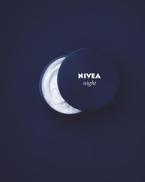 Clever Nivea Night Cream ad. #cream #nivea #night #idea #clever #moon