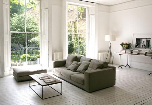 white white gray sur Flickr: partage de photos! #interior #design #decor #deco #decoration