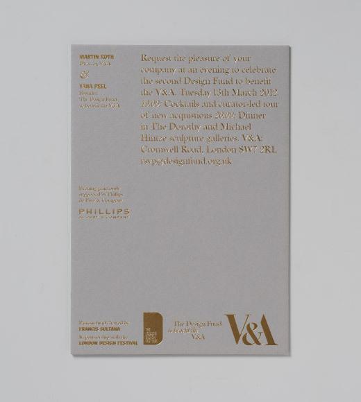 Design Fund invite - Gavin Martin Colournet #gg