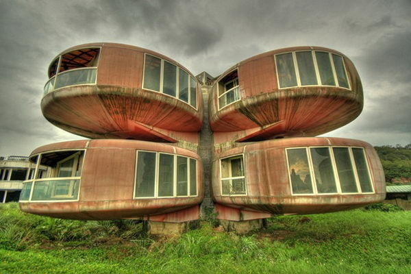 The UFO House (Sanjhih, Taiwan) #building #house #interesting