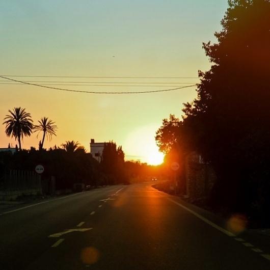 Inkstagram - Photo - #sunrise on the road