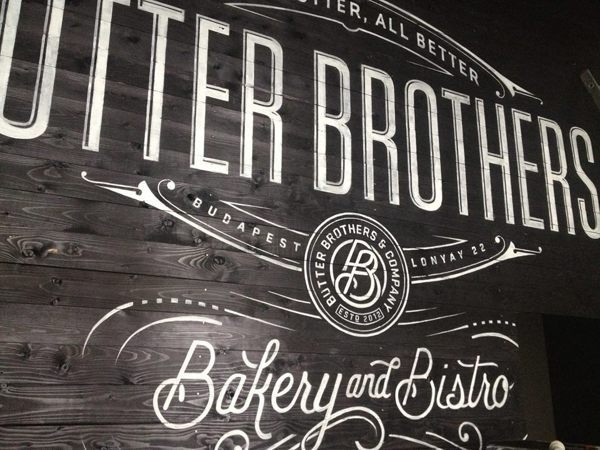 Butter Brothers on Behance #logo #lettering #hand #typography