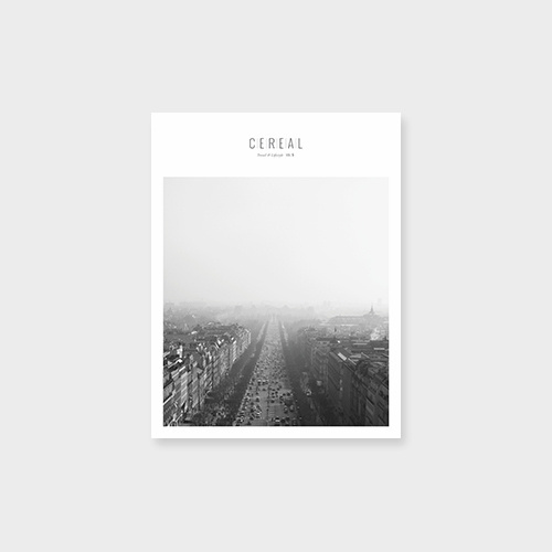 Cereal Volume 5 #white #magazine #mag #cereal