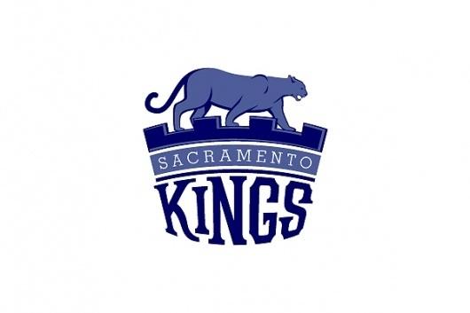 NBA team logo redesigns – Michael Weinstein Design #kings #redesign #sacramento #logo #nba #basketball