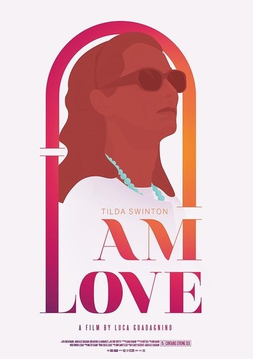 I am love - film poster #i #tilda #swinton #illustration #poster #film #love #am