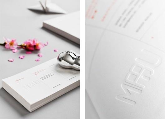 Maru on the Behance Network #paper #maru #identity #typography