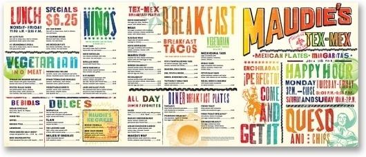 http://www.pentagram.com/en/Maudie's_Menu_2_POP.php #mex #menu #dj #tex #identity #maudies #pentagram #stout #typography