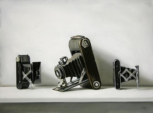 Christopher Stott – Ultra realist painter - Jared Erickson | Jared Erickson #camera #classic #retro #realist #painting