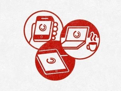 Dribbble - Branding by Nick Tassone #illustration #vector #icons