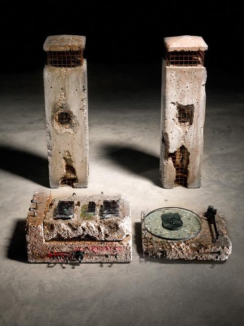 Concrete stands #hifi #concrete