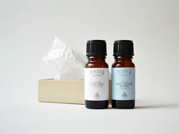 ENFRY Essential Oil Packaging by Roberta Gheda
