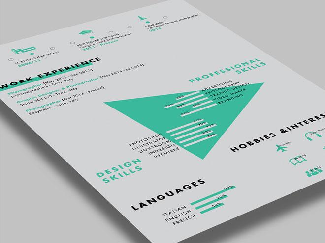Free Creative CV Resume Template